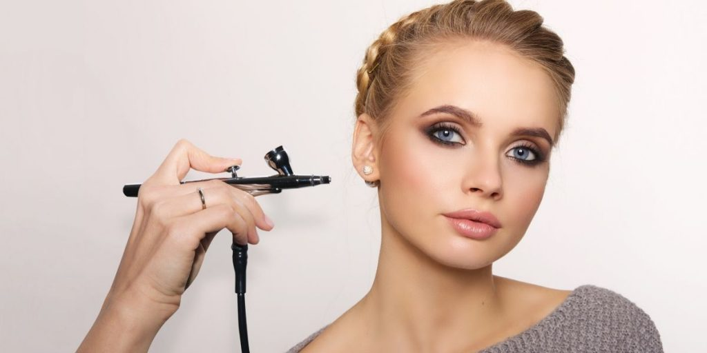 The Main Advantages of Airbrush Make-Up